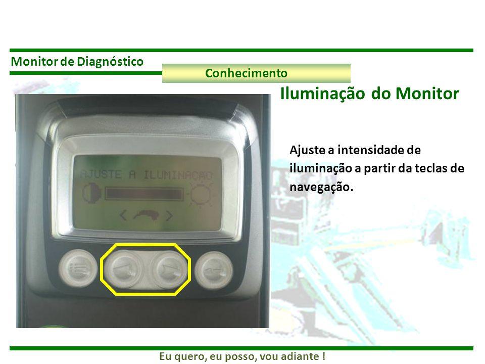 Iluminação do Monitor Monitor de Diagnóstico Conhecimento