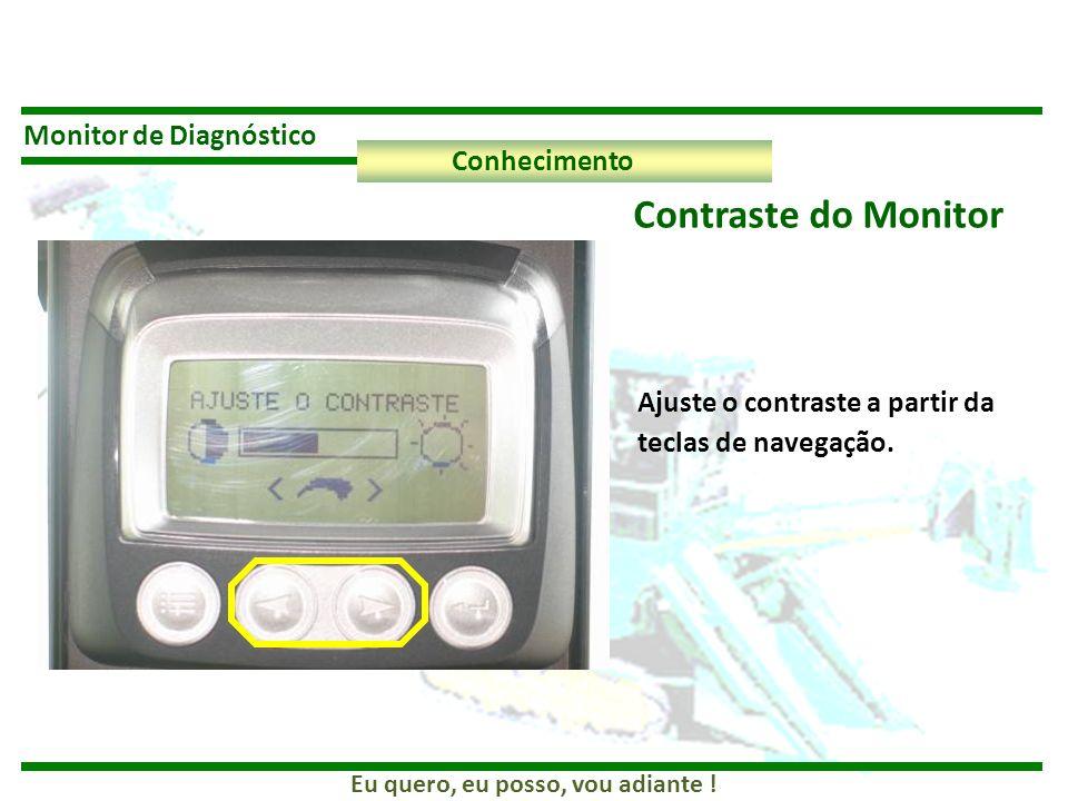 Contraste do Monitor Monitor de Diagnóstico Conhecimento
