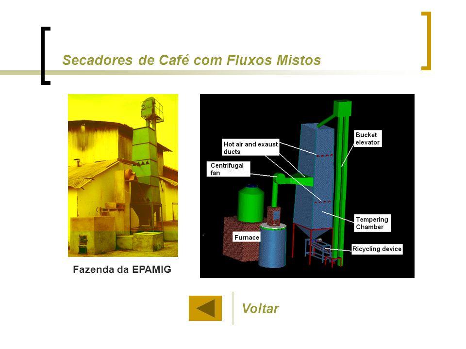 Secadores de Café com Fluxos Mistos