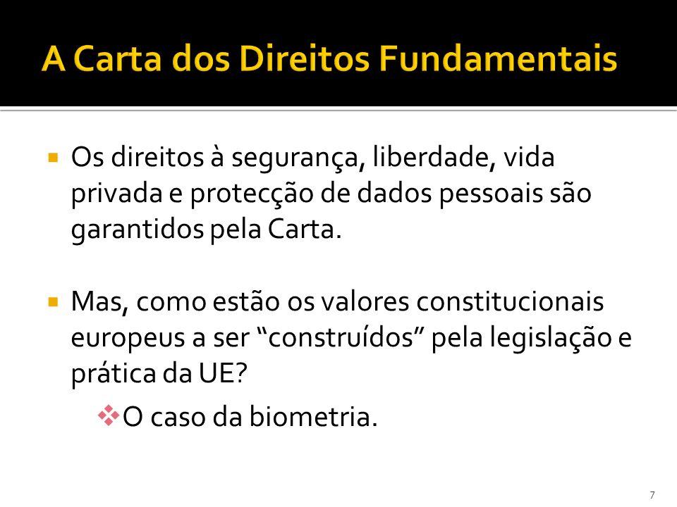 A Carta dos Direitos Fundamentais