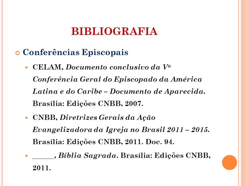 BIBLIOGRAFIA Conferências Episcopais