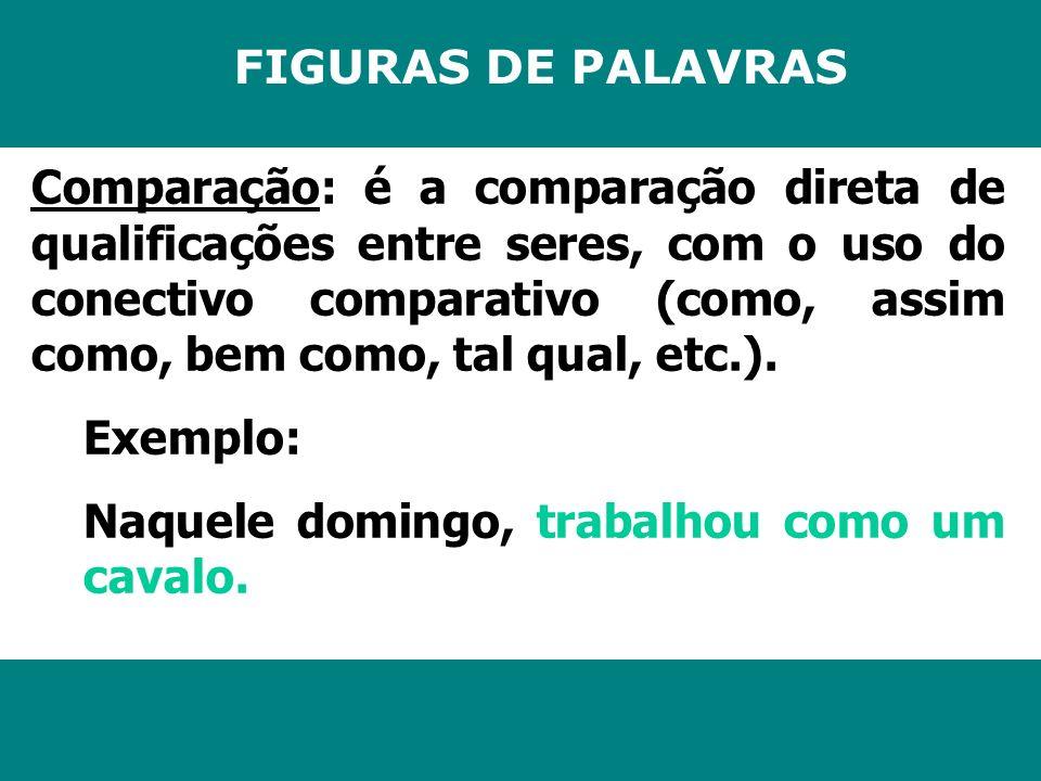 FIGURAS DE PALAVRAS