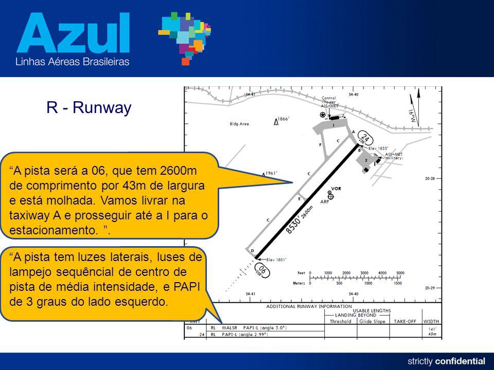 R - Runway