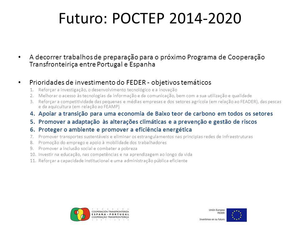 Futuro: POCTEP 2014-2020 A decorrer trabalhos de preparação para o próximo Programa de Cooperação Transfronteiriça entre Portugal e Espanha.