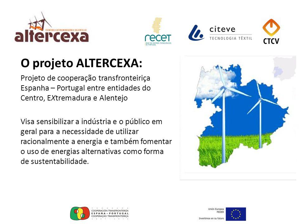 O projeto ALTERCEXA: Projeto de cooperação transfronteiriça Espanha – Portugal entre entidades do Centro, EXtremadura e Alentejo.