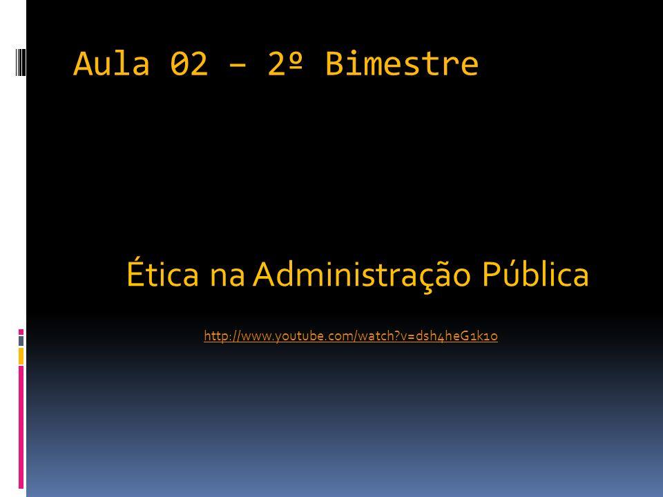 Ética na Administração Pública