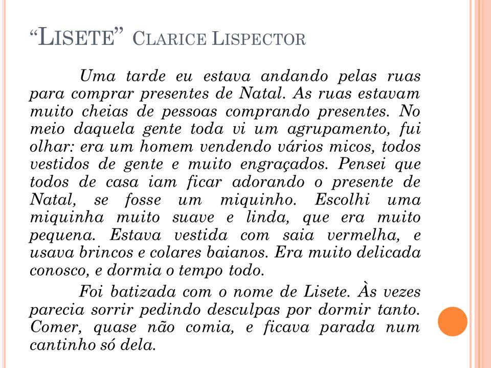 Lisete Clarice Lispector