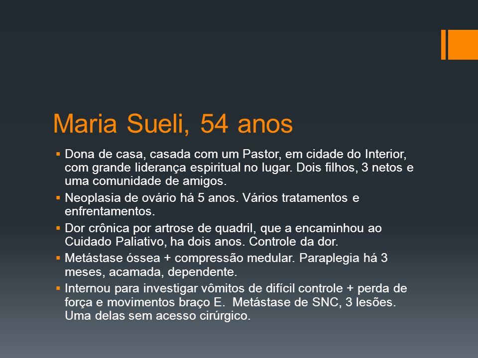 Maria Sueli, 54 anos