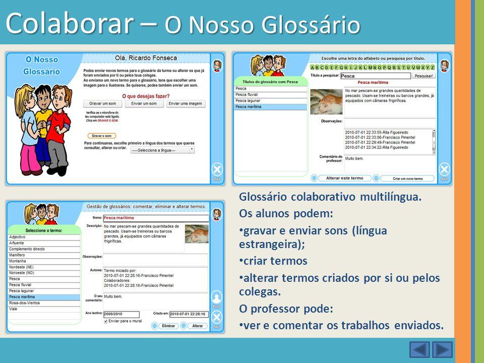 Colaborar – O Nosso Glossário