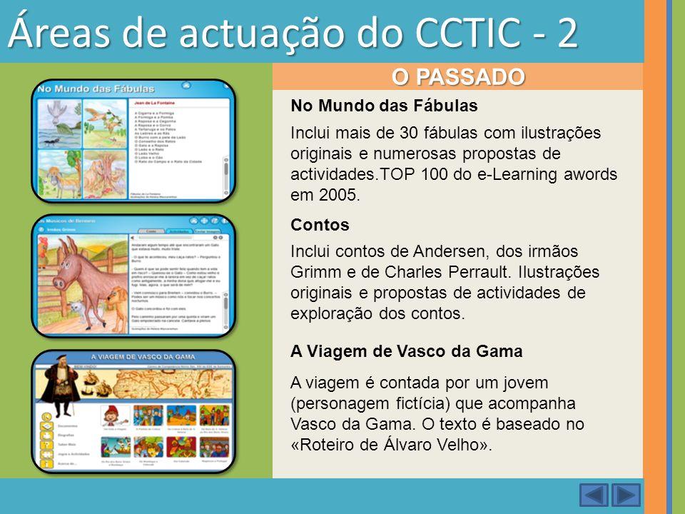 Áreas de actuação do CCTIC - 2