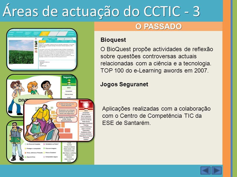 Áreas de actuação do CCTIC - 3
