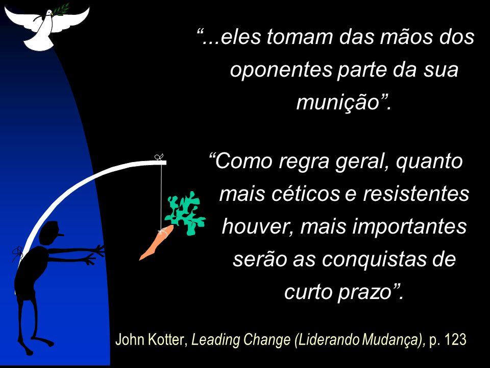 John Kotter, Leading Change (Liderando Mudança), p. 123