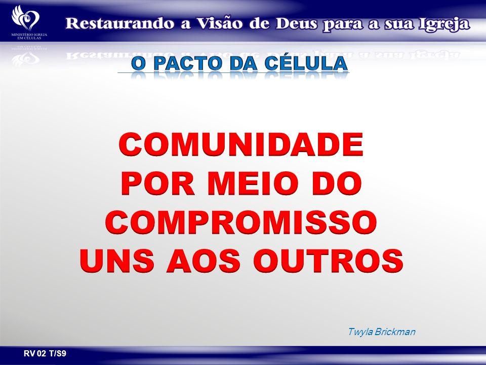 POR MEIO DO COMPROMISSO