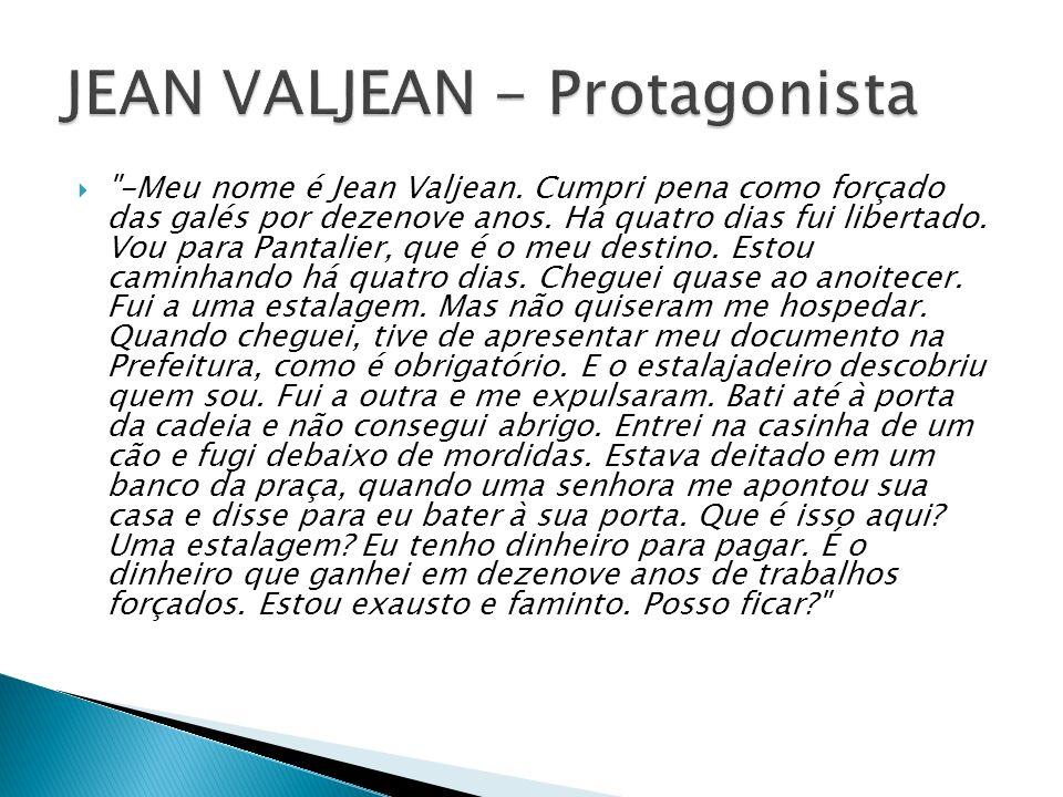 JEAN VALJEAN - Protagonista