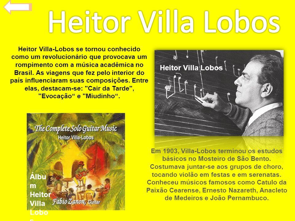 Heitor Villa Lobos Heitor Villa Lobos Álbum Heitor Villa Lobos