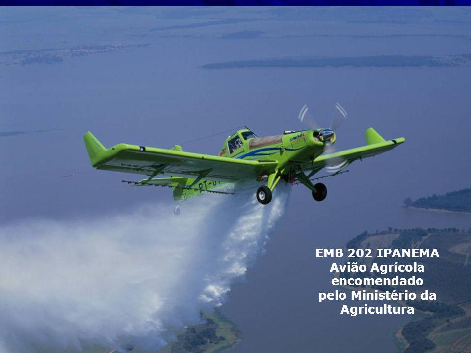 Avião Agrícola encomendado pelo Ministério da Agricultura
