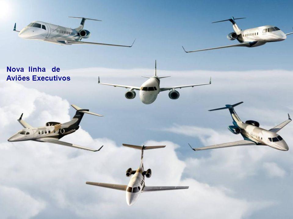 Nova linha de Aviões Executivos