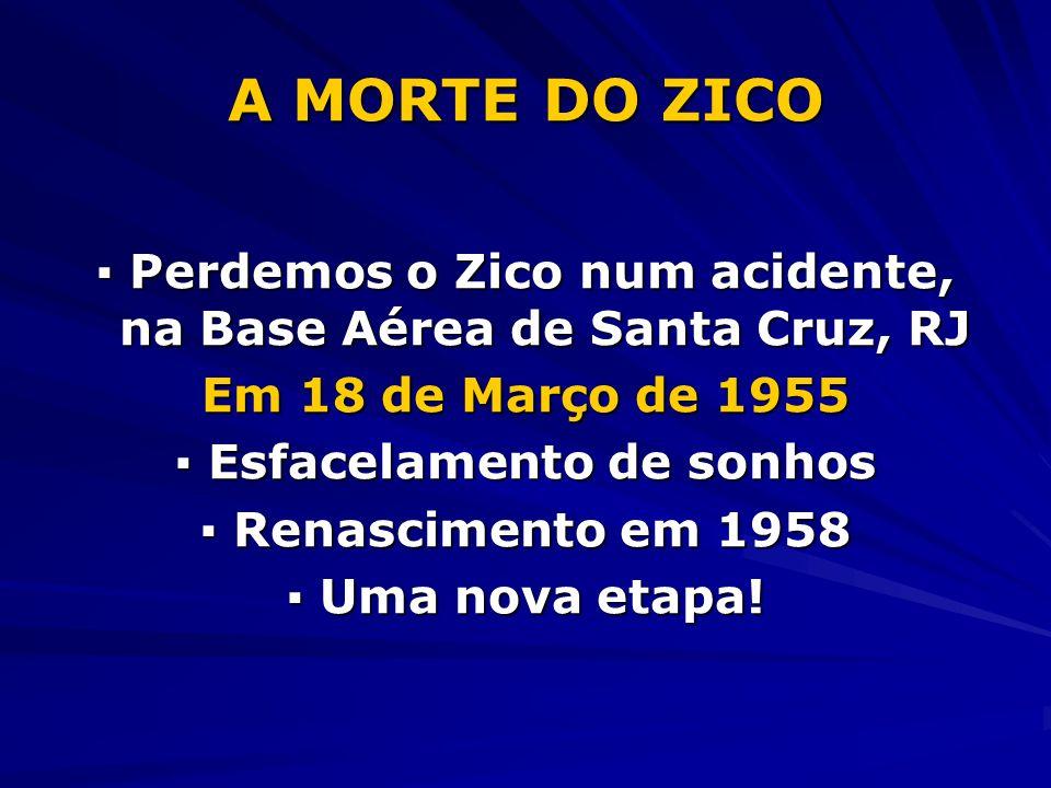 A MORTE DO ZICO