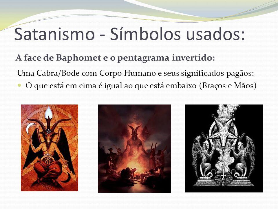 Satanismo - Símbolos usados: