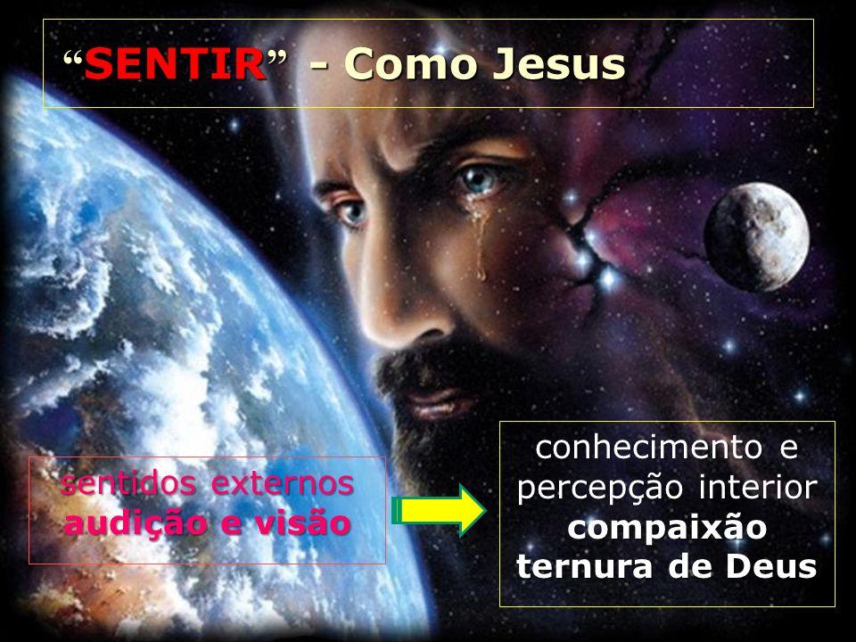 SENTIR - Como Jesus conhecimento e percepção interior