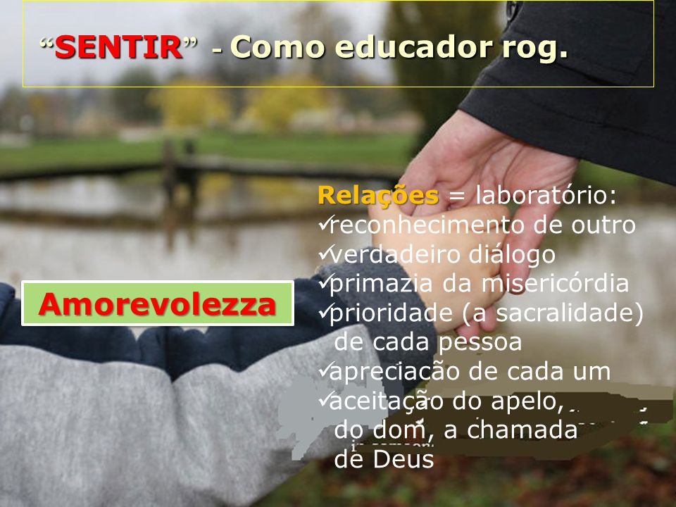 SENTIR - Como educador rog.