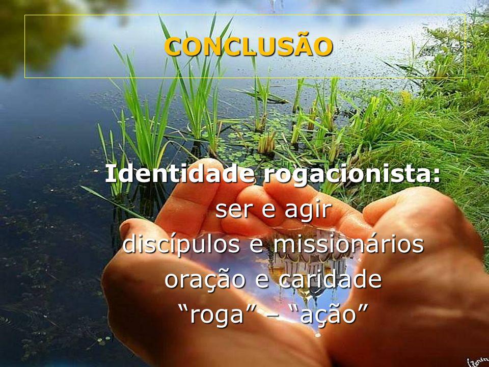 Identidade rogacionista: ser e agir discípulos e missionários