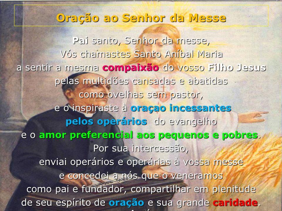 Oração ao Senhor da Messe