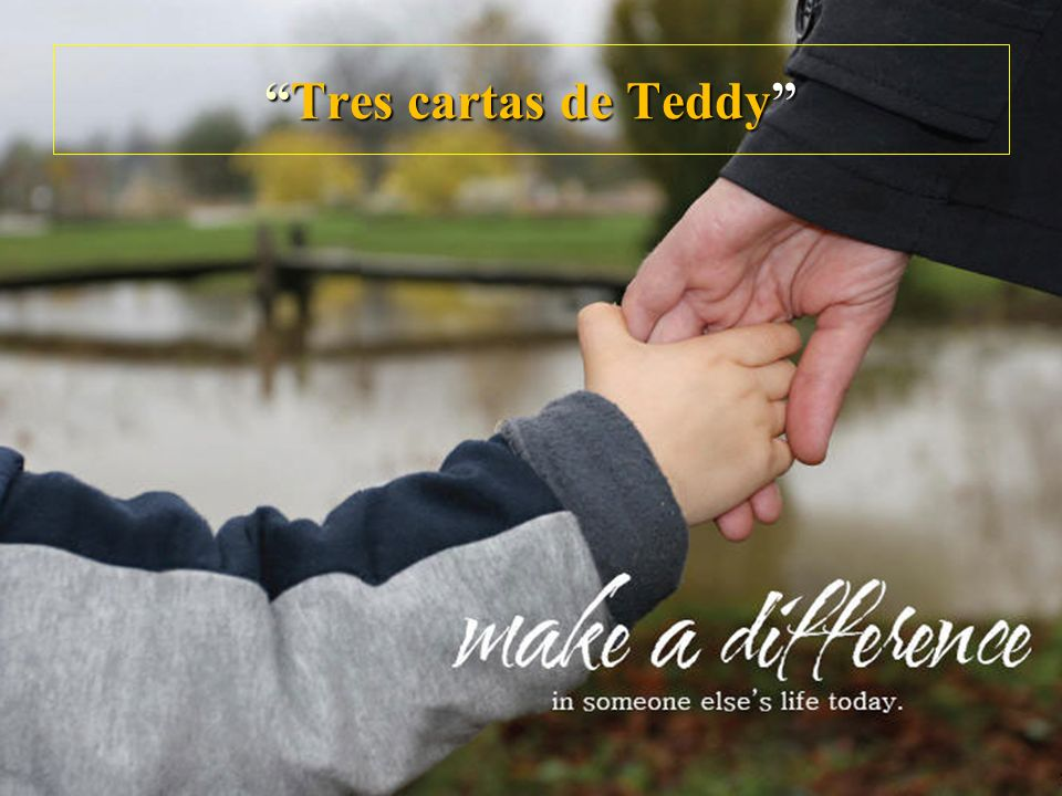 Tres cartas de Teddy