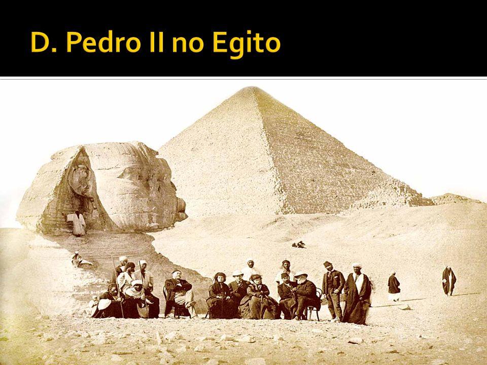 D. Pedro II no Egito