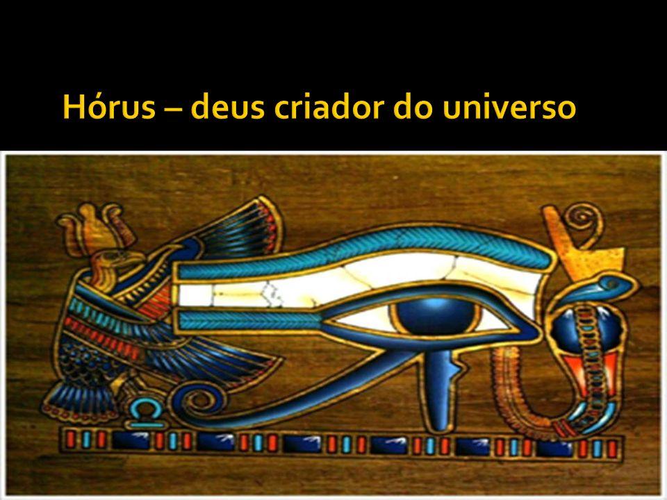 Hórus – deus criador do universo