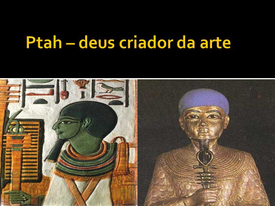 Ptah – deus criador da arte