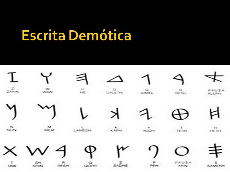 Escrita Demótica