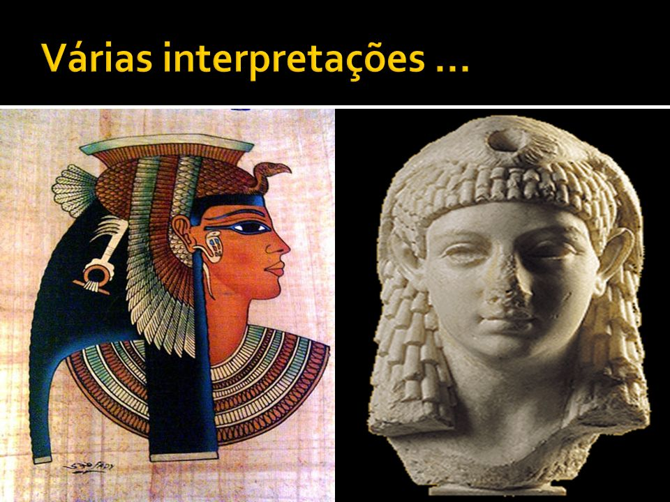 Várias interpretações ...