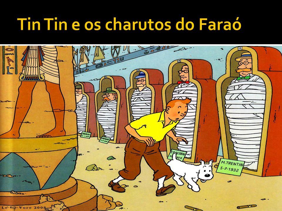 Tin Tin e os charutos do Faraó