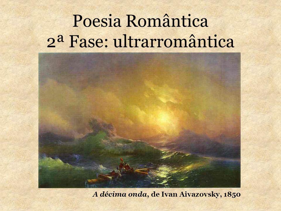 Poesia Romântica 2ª Fase: ultrarromântica