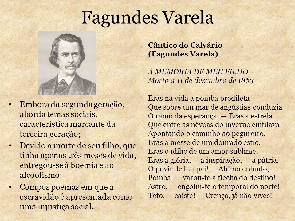 Fagundes VarelaCântico do Calvário. (Fagundes Varela)