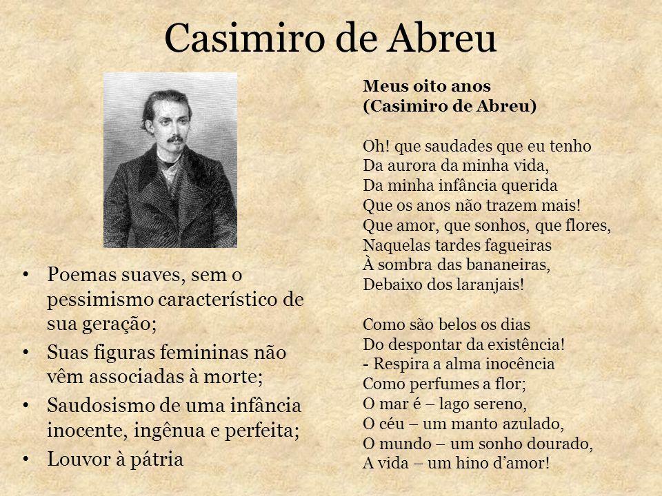 Casimiro de AbreuMeus oito anos. (Casimiro de Abreu)