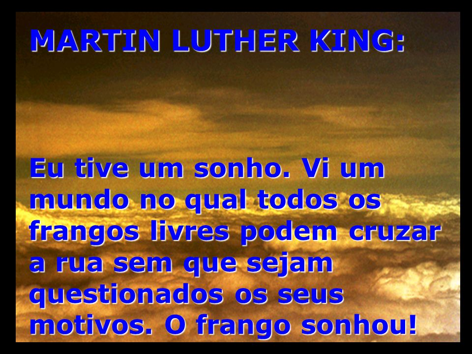 MARTIN LUTHER KING: