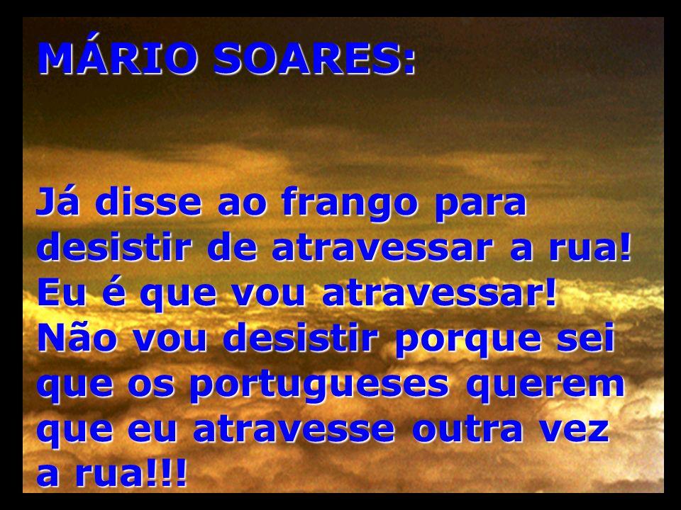 MÁRIO SOARES: