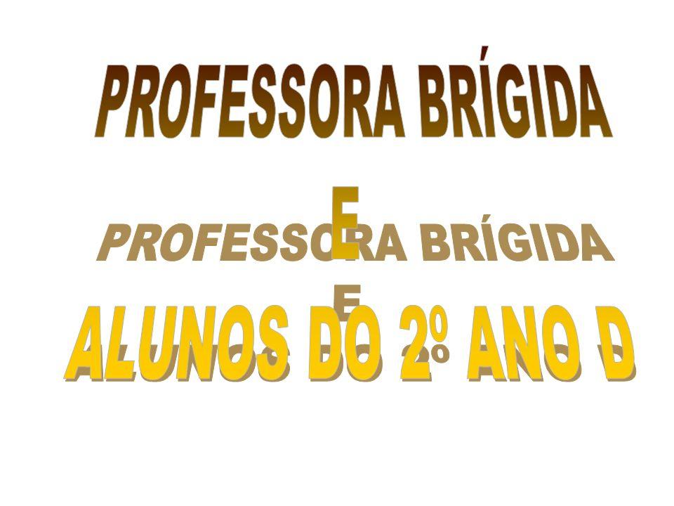PROFESSORA BRÍGIDA E ALUNOS DO 2º ANO D