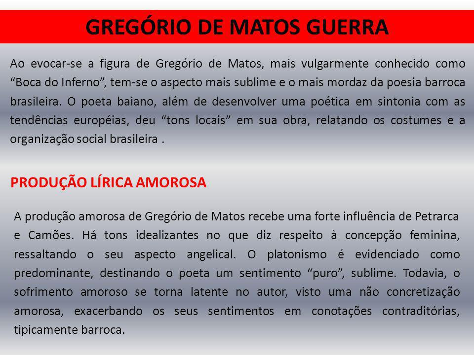GREGÓRIO DE MATOS GUERRA