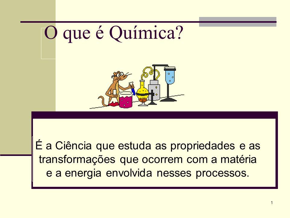 O que é Química.