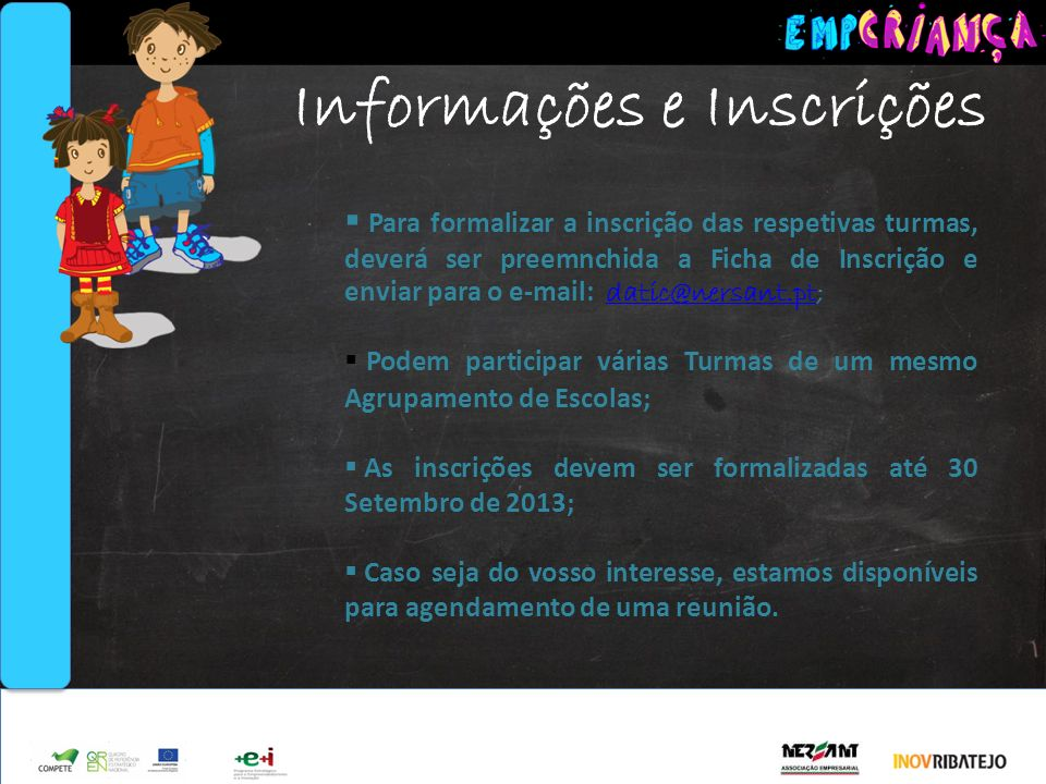 Informações e Inscrições