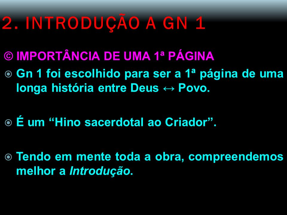 2. INTRODUÇÃO A GN 1 © IMPORTÂNCIA DE UMA 1ª PÁGINA