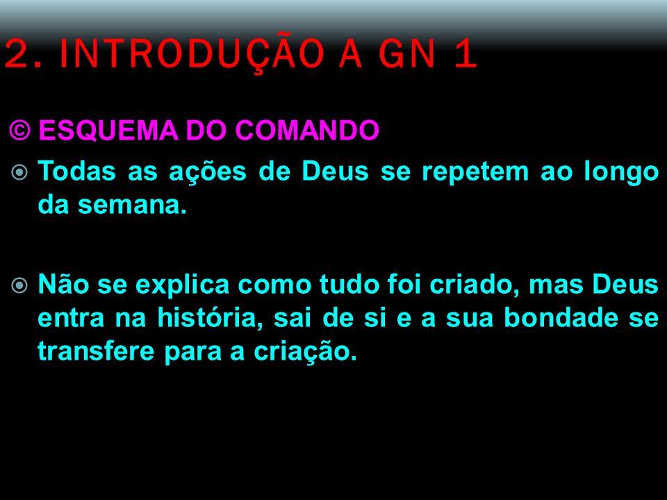 2. INTRODUÇÃO A GN 1 © ESQUEMA DO COMANDO