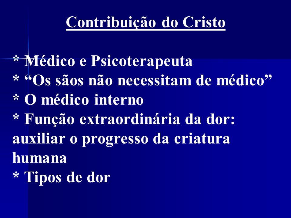 Contribuição do Cristo