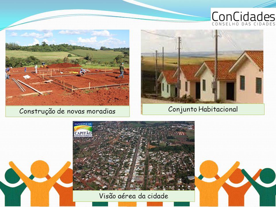 Conjunto Habitacional Construção de novas moradias