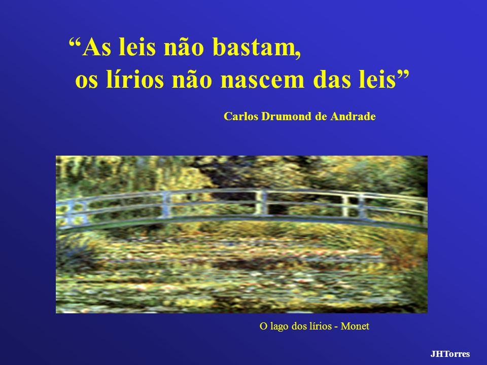 os lírios não nascem das leis Carlos Drumond de Andrade