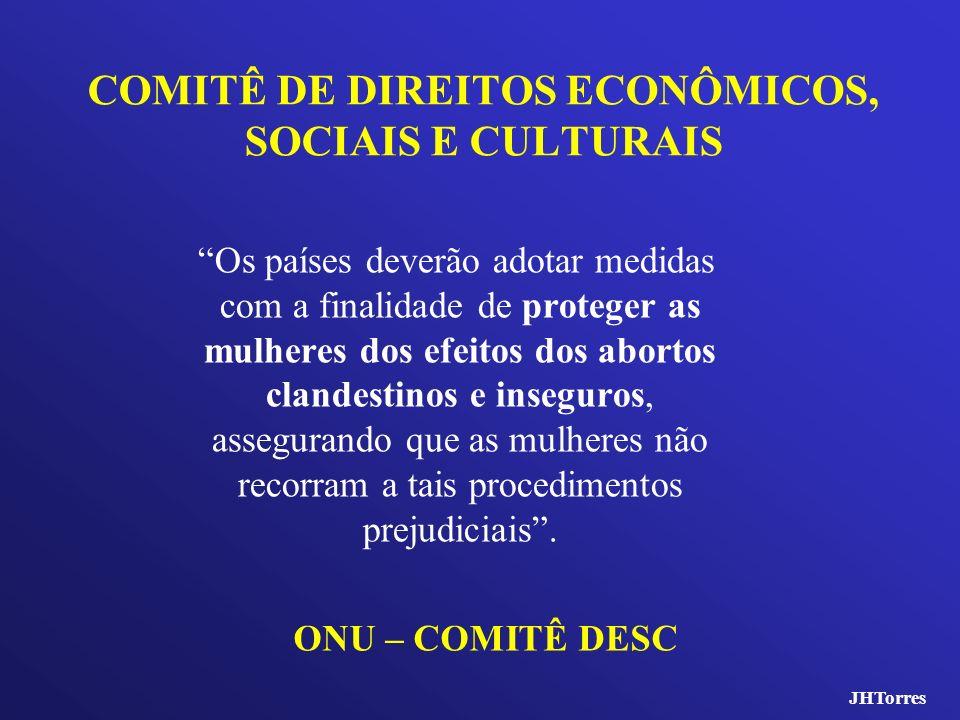 COMITÊ DE DIREITOS ECONÔMICOS, SOCIAIS E CULTURAIS