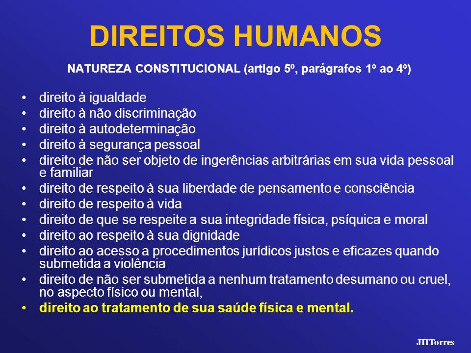 DIREITOS HUMANOS direito à igualdade direito à não discriminação